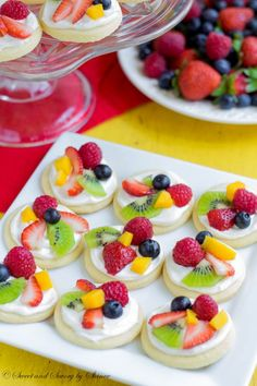 Fruit Pizza from @bhg
