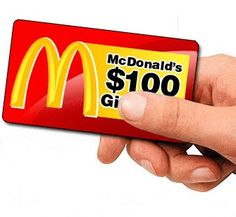 Get a Free $250 McDonald's Gift Card
