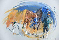 Hubert de Watrigant : Horses