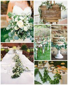 gorgeous green wedding