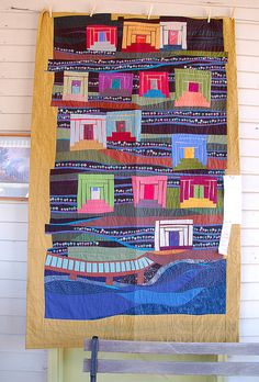 Sisters Outdoor Quilt Show 2011. great uneven edges