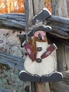 wooden snowman - Google Search
