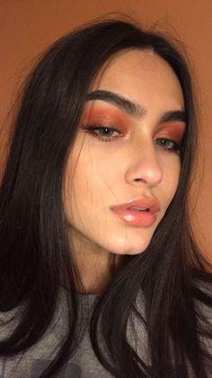 Uhair Mall Indian Virgin Hair Straight 3 Bundles With Lace Indian Human Hair Extensions - Make Up 2019 Bronze Makeup, Glam Makeup, Pretty Makeup, Skin Makeup, Makeup Inspo, Makeup Inspiration, Makeup Tips, Makeup Ideas, Sephora Makeup