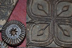 Tajik Chitgari Printing Block 1 - Anne Laure PY on Flickr  -  BLOCK PRINTING