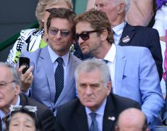 Luckily, Bradley Cooper and Gerard Butler did. | The 60 Most Important Celebrity Photos Of 2013