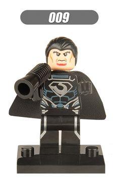 Super Heroes General Zod Luke Skywalker Star Wars The Force Awakens Bricks Building Blocks Education Toys for children XH 009