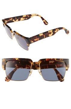 SUNDAY SOMEWHERE 'Little God' 55mm Rectangular Sunglasses available at #Nordstrom