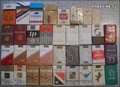 Czechoslovakian cigarettes in socialist era Bratislava, Advent Calendar, Safari, Holiday Decor, Socialism, Cigar, Money, Travel, Products