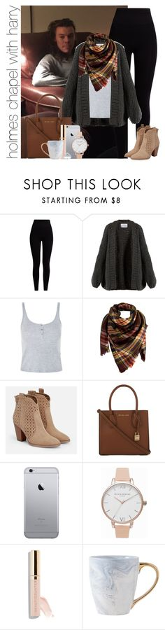 """""""holmes chapel with harry"""" by awk0cass ❤ liked on Polyvore featuring Pepper & Mayne, I Love Mr. Mittens, Topshop, Peach Couture, JustFab, MICHAEL Michael Kors, Olivia Burton, Beautycounter and Kobelli"""