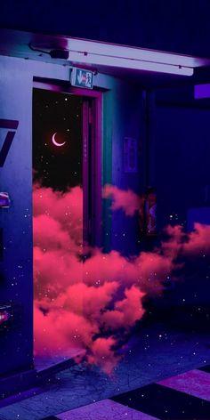 Night Sky Wallpaper, Butterfly Wallpaper Iphone, Dark Wallpaper Iphone, Iphone Wallpaper Tumblr Aesthetic, Anime Scenery Wallpaper, Iphone Background Wallpaper, Aesthetic Pastel Wallpaper, Cute Black Wallpaper, Cute Galaxy Wallpaper