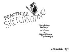 practical-sketchnoting by Jason Alderman via Slideshare