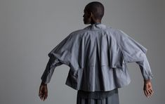Vintage Issey Miyake Cropped Trench