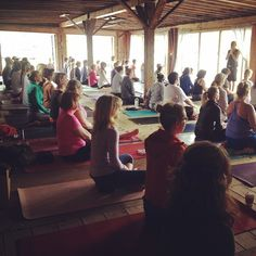 Earlier this month I went on my very first yoga retreat, hosted by Power Yoga Canada. It was a short weekend retreat up at Cleveland's House in Muskoka, and although I could probably have stayed for the whole week (or two, or three) what I got out of my short time there was amazing.