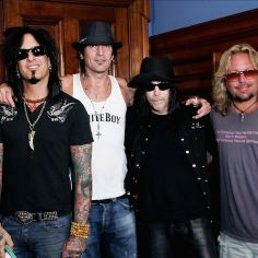 Motley Crue! I'll be seeing them on their final tour in October! Can't wait!
