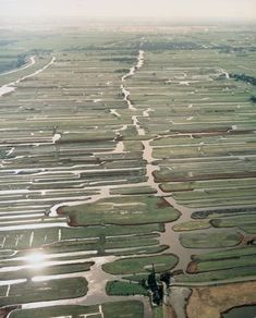 Aerial view of Holland. 'Nederland Waterland'                                                                                                                                                                                 More