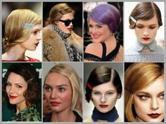 Hello Autumn trend! Exposed bobby pins have been spotted on red carpets & runways around the world