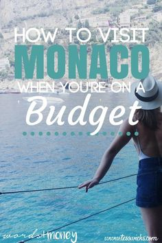 Monaco, that little piece of beauty on the French Riviera, is its own sovereign city-state with a ruling Prince and Princess.Monaco is also known as a playground for the rich and famous. It's bougie (like bourgeois, but higher-class), it's fabulous, and it's not cheap. So when my dream vaca