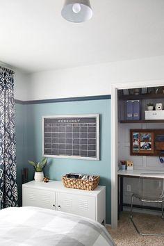 Organized Teen Boy Bedroom