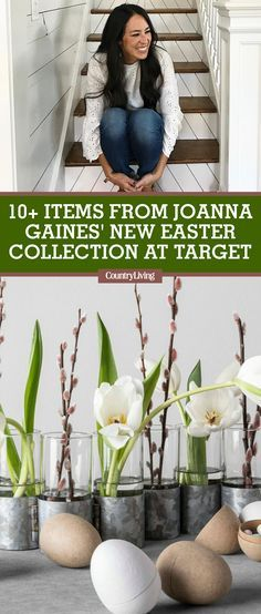 Joanna Gaines is back at it with a new collection of spring and Easter pieces at Target. The new assortment of goodies in her Hearth and Hand with Magnolia collection are perfect for dressing up your home for Easter brunch—or any springtime party. #fixerupper #joannagaines #HGTV #chipandjoannagaines