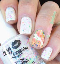 nailstorming retour en enfance - finger paint
