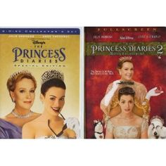 """""""The Princess Diaries & the Princess Diaries 2 Royal Engagement"""" I realy like these movies."""