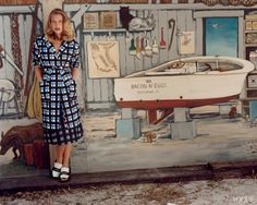 June '13 photo: Bruce Weber model: Drea Hemingway fashion editor: Camilla Nickerson
