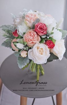 www.facebook.com/LemongrassWedding #flower #bride #bouquet #lemongrasswedding #bridebouquet #freshflowers #wedding #florist #corsage #weddings #bridesmaids #silkflowers