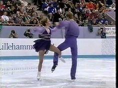 Jane Torvill & Christopher Dean 1994  Lillehammer Olympics EX Bolero Ice Dancing