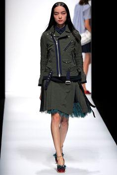 Sacai Spring 2013 Ready-to-Wear Collection Photos - Vogue