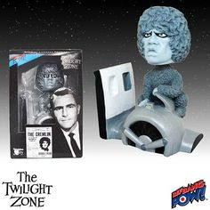 The Twilight Zone Gremlin Bobble Head - Bif Bang Pow! - Twilight Zone - Bobble Heads at Entertainment Earth