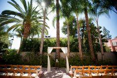 DIY White Jewish Wedding Chuppah, California {Photography by Jeff + Amber} - mazelmoments.com