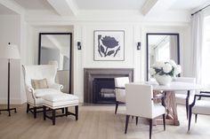 Great Room  Contemporary by Victoria Hagan