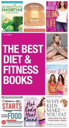 Here are some of the best diet and fitness books you need to put on your summer reading list.
