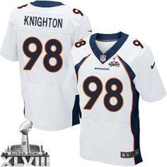 Terrance Knighton Elite Jersey-80%OFF Nike Terrance Knighton Elite Jersey at Broncos Shop. (Elite Nike Men's Terrance Knighton White Super Bowl XLVIII Jersey) Denver Broncos Road #94 NFL Easy Returns.