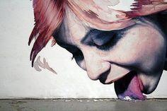 Interactive Street Art Works    Artist: Adam Krüger  City: Hamburg.    Via: Buzzfeed