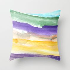 water color abstract painting_6 Throw Pillow by humble art by dana&reese - $20.00 Abstract Watercolor, Throw Pillows, Painting, Etsy, Art, Art Background, Toss Pillows, Cushions, Painting Art