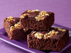 Get Ellie Krieger's Ellie Krieger's Double-Chocolate Brownies Recipe from Food Network