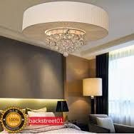 Retractable crystal led ceiling fan with remote controlling chandelier fan combo google search mozeypictures