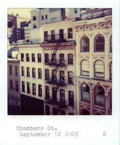 NYC polaroids