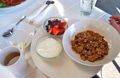 Granola at Toast in West Hollywood