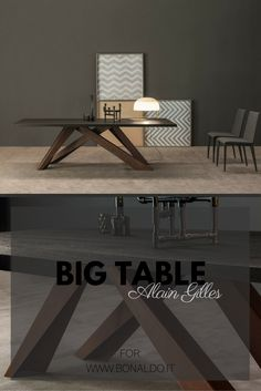 Big Table for #bonaldo #table #interior #design