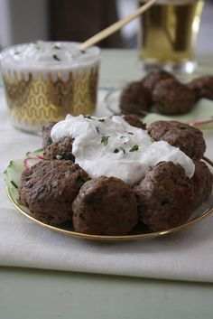 dinners amp dreams meatballs with yogurt sauce for the boston globe