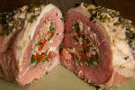 Paleo ~Herb and Prosciutto Stuffed Steak