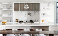 delight by design: kitchens {clean + simple}
