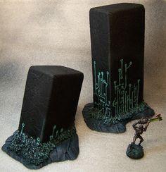 Terrain Scenery Warhammer 40K for Table Wargames Necron Monolith   eBay
