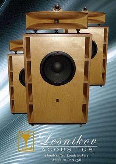 Pro Audio Speakers, Horn Speakers, Best Speakers, Diy Speakers, Speaker Box Design, High End Audio, Vacuum Tube, Loudspeaker, Audio Equipment