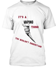 Limited Edition Vaping Tee Shirt! | Teespring