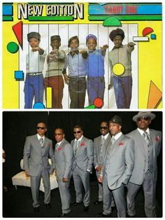 New Edition..... My favorite boy band since 1983...: