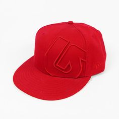 New burton red logo slider new era 59fifty fitted baseball cap hat 7 3 8  58.7 cm e114deccdfb