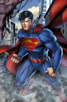 Superman Busting In by SUPERMAN3D.deviantart.com on @deviantART